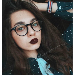 2018  Fashion Women Glasses Frame Men Eyeglasses Frame Vintage Round Clear Lens Glasses Optical Spectacle Frame