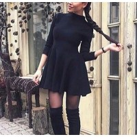 2018 Sexy Off Shoulder Summer Women Dress Female Womens Holiday O Collar Party Ladies Casual Dress Half Sleeve Dress Party Dress