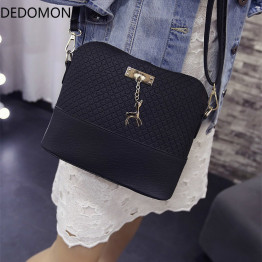 2018 Women Shoulder Bags Fashion Mini Bag With Deer Toy Shell Shape Women Small  Messenger Crossbody Bag Ladies Zipper HandBags