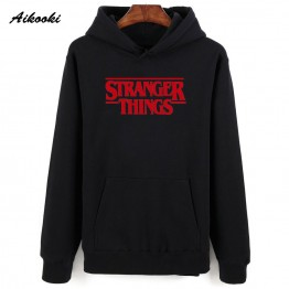 Aikooki Men Hoodie Stranger Things Hoodies Men Sweatshirt women/men Casual Stranger Things Sweatshirts Women Hoodie Men's  XXS-4