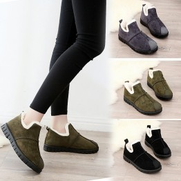 Ankle Boots Snow Boots Women Flats Winter Fashion Warm Winter Short Boots New Arrival Women Shoes Fur Plush Insole Shoes Women