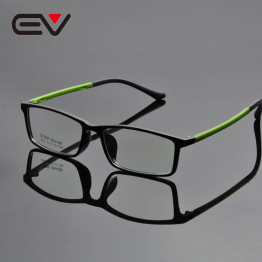Fashion Men Light Weight Acetate Square Eyeglasses Frames Women Comfortable Optical Spectacle Frames 5 Color EV1346