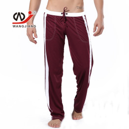 WJ Brand Mens Jogger Running Pants Sports Gym Pants Male Fitness Workout Active Pants Sweatpants Trousers Men Yoga Wear